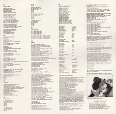 LP inner sleeve back, UK